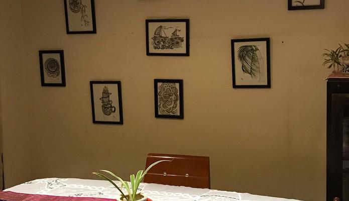 Dining Area - Art