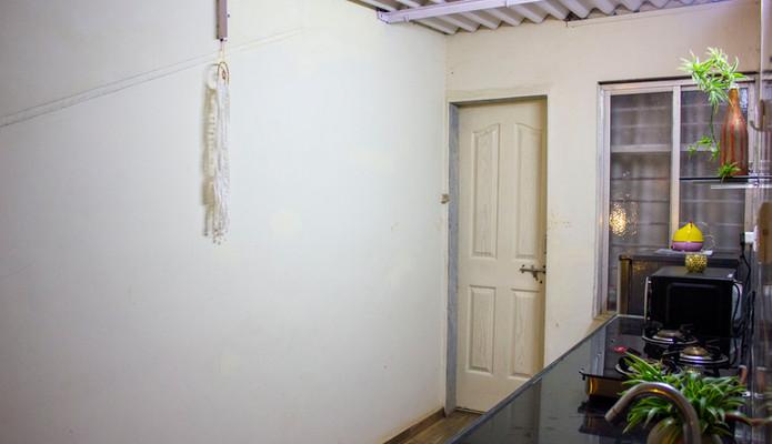 Kitchen Counter & Door