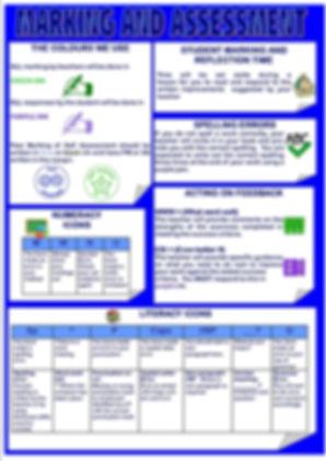 Marking & Assessment Sheet