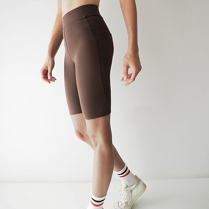 CYCLING SHORTS - CHOCOLATE