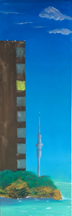 Solitude and Skytower, Auckland