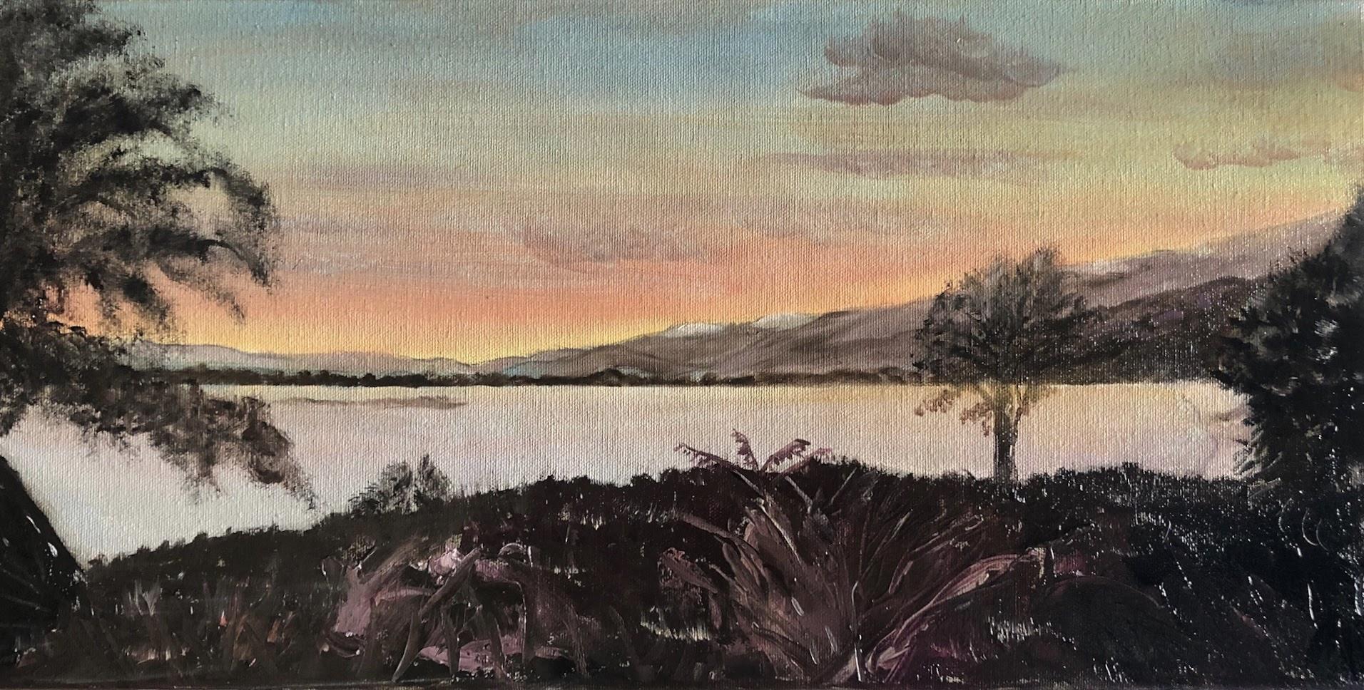 Sunset at Tapu Bay