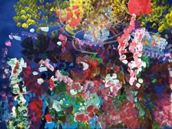 Summer garden 400x600 Paper