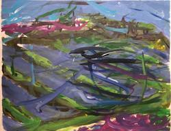 Lavender Fields 2017 450x350 Canvas