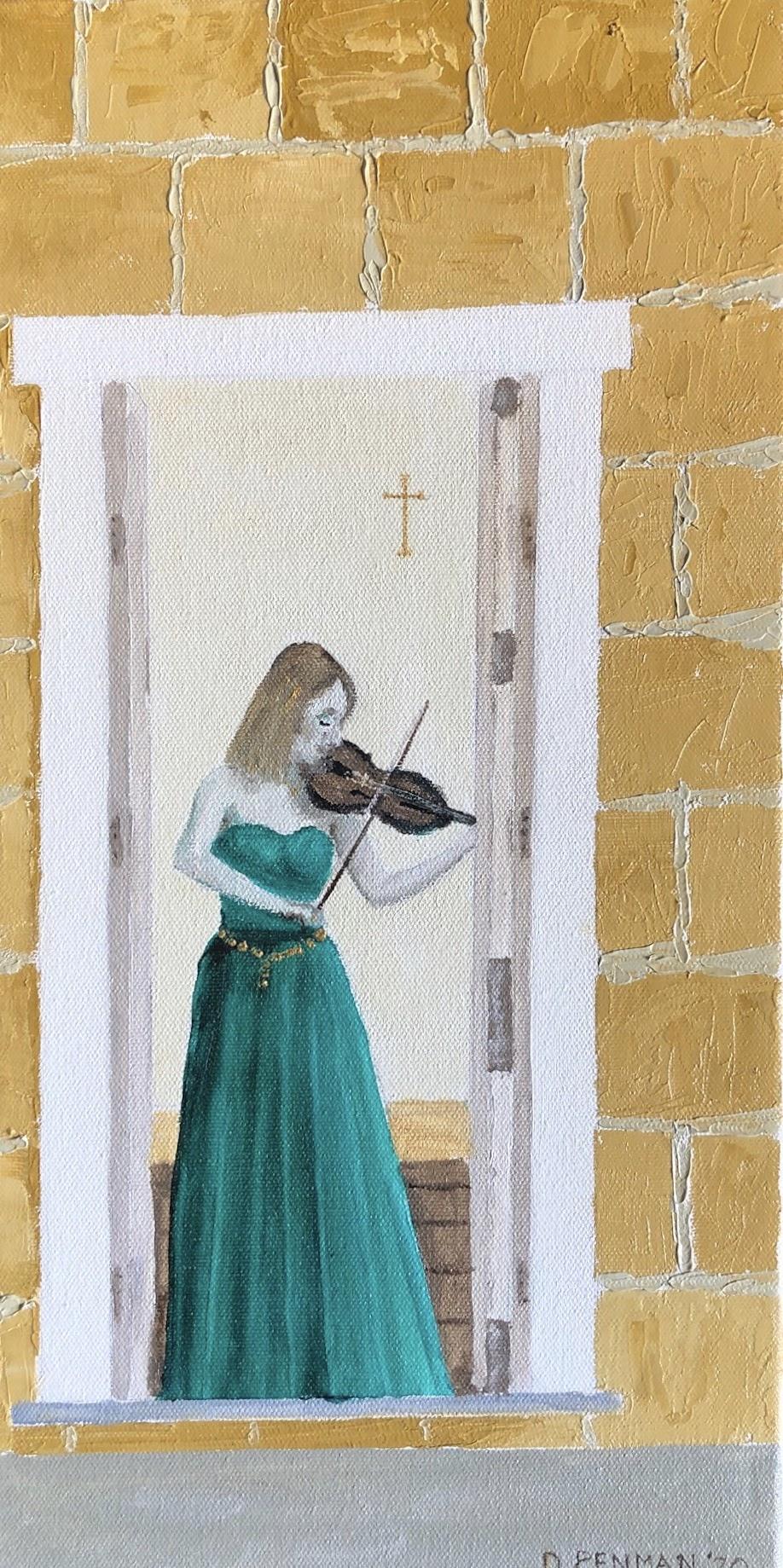 Solitary Violinist, Tasmania
