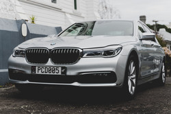 BMW 7 Series for Private Hire, Chauffeur, Event, Wedding, Taxi Services. Luxury Sedan.