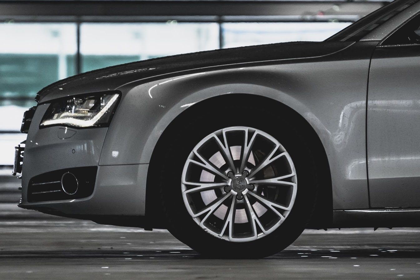 Audi A8 for Private Hire, Chauffeur, Event, Wedding, Taxi Services. Luxury Sedan.