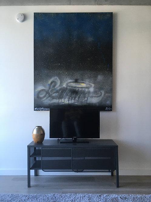 "Lumina Spray on Canvas 46"" x 60"""