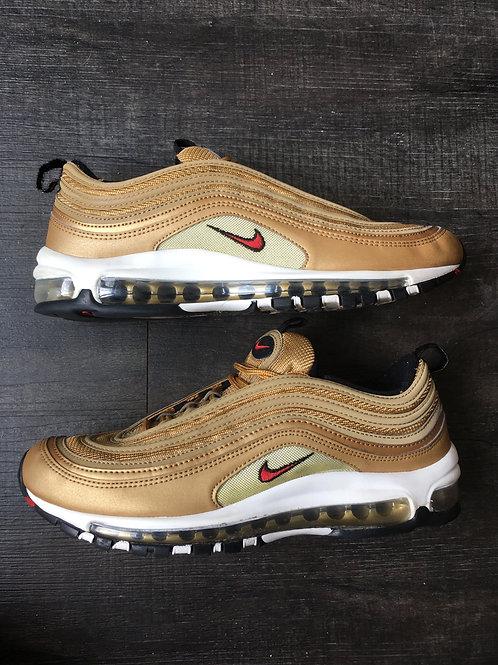 Nike Air Max 97 Metallic Gold size 9.5 used no box