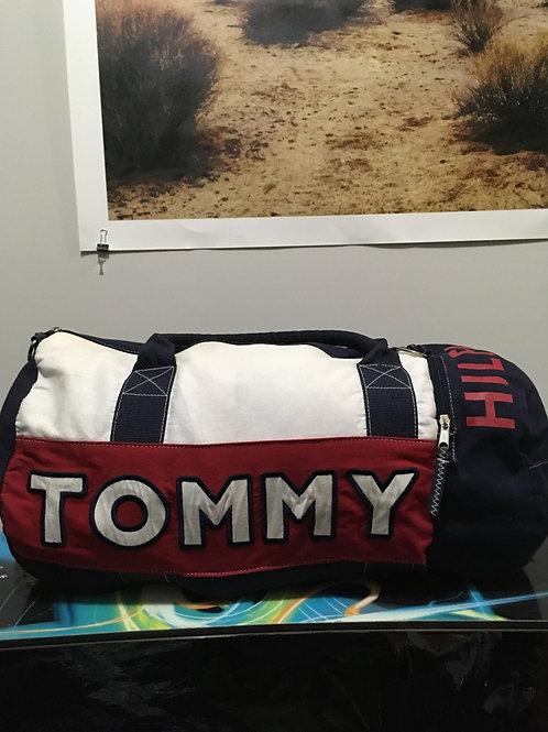 Vintage Tommy Hilfiger Canvas Duffel