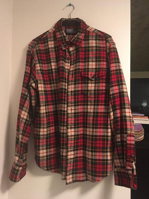 Ralph Lauren Polo Flannel Size Large