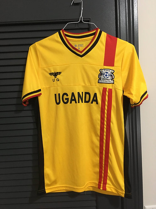 Uganda Bootleg Soccer Jersey Size Small