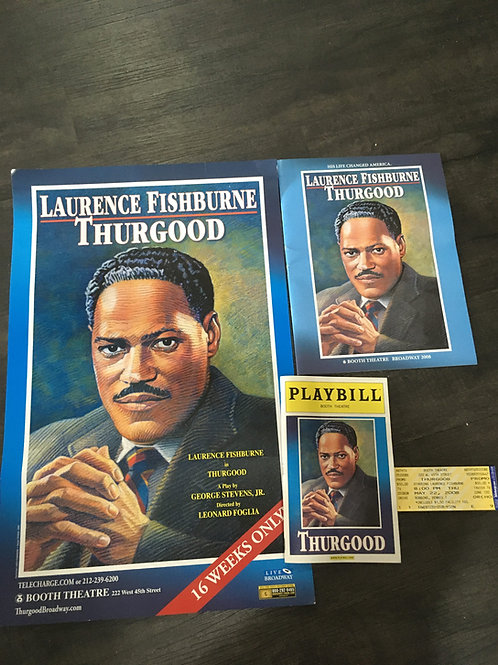 2008 Thurgood Broadway Playbill Package
