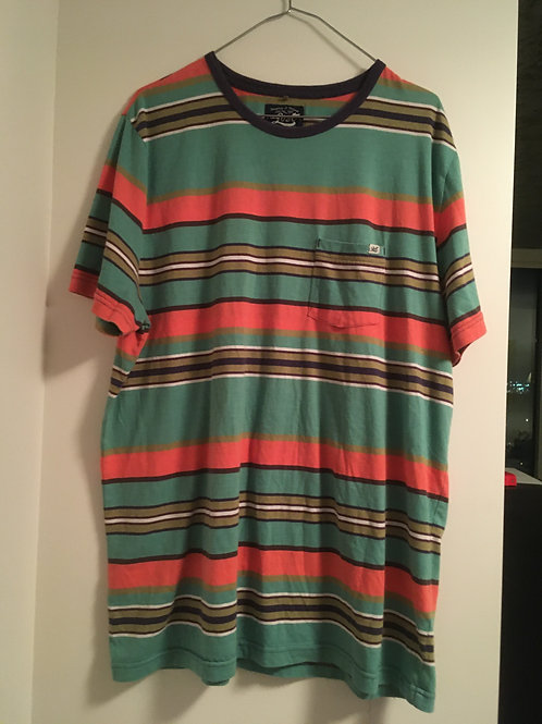 Lost Surfboards Striped Shirt XLarge