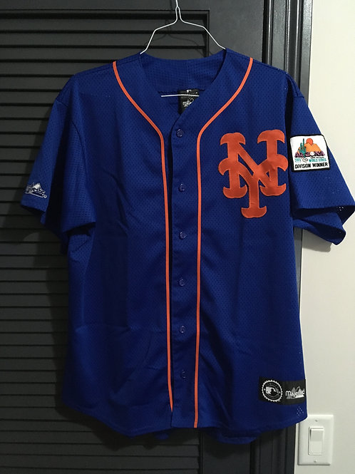 Mets Jersey 1999 Division Blank Large