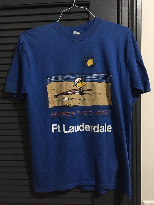 80s Peanuts Florida XL