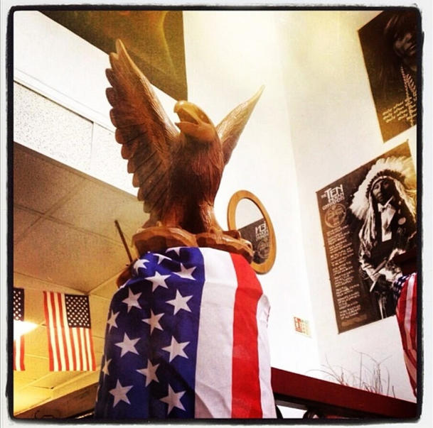 The Wooden Eagle