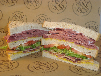 Salt Beef Club Sandwich
