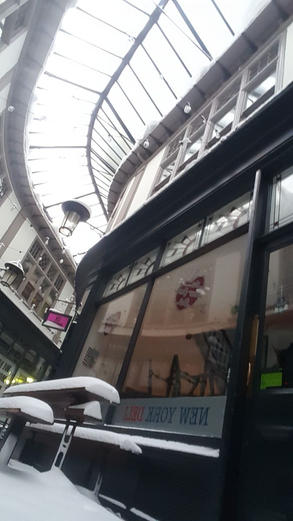 Snowing inside the Arcade