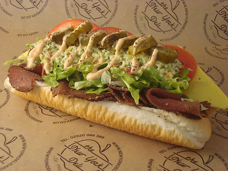 The Vegan New York Hoagie