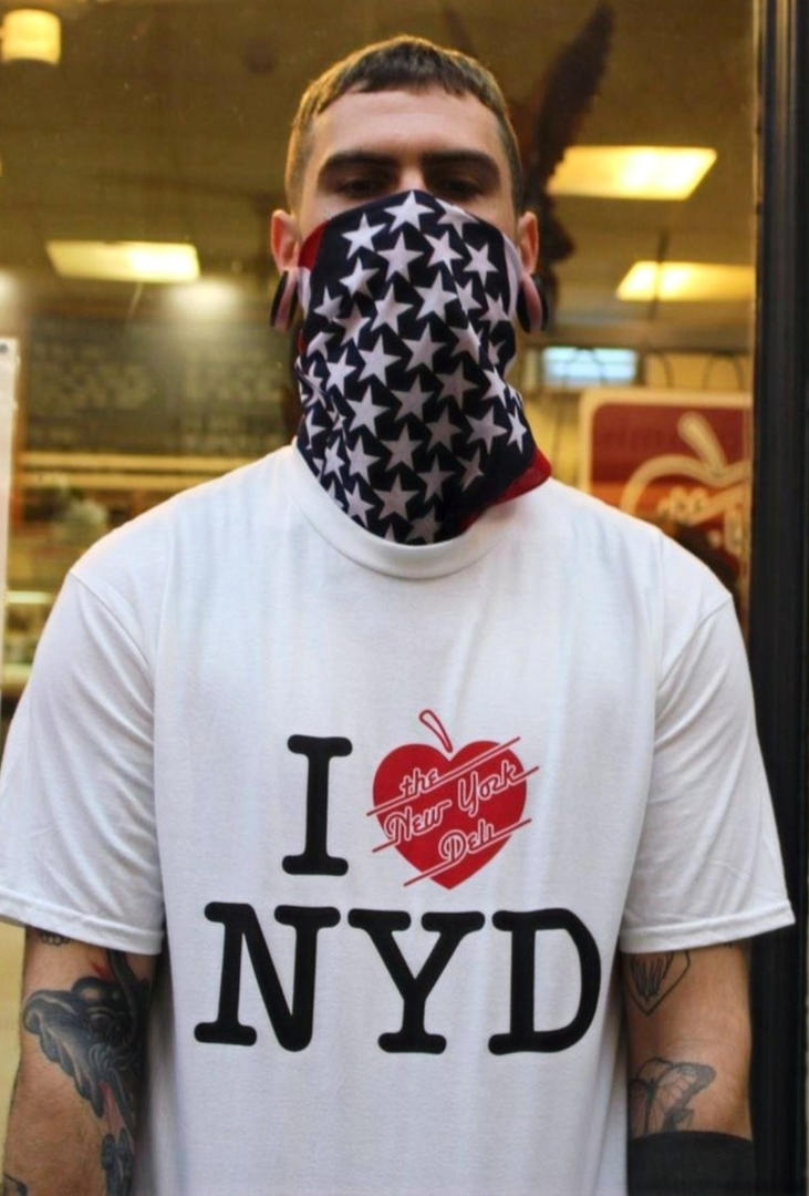 I Heart NYD White T-Shirt Available in t