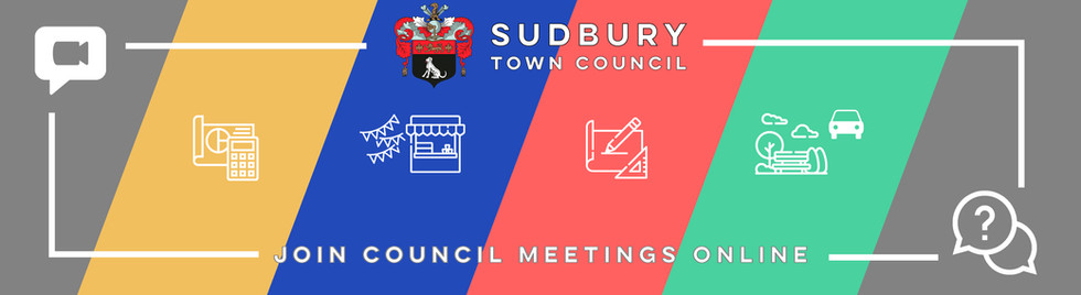 Join Sudbury Town Council meetings online