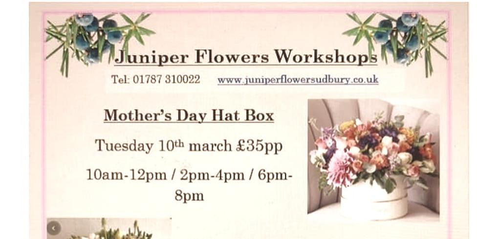 Mother's Day Floral Hat Box Workshops