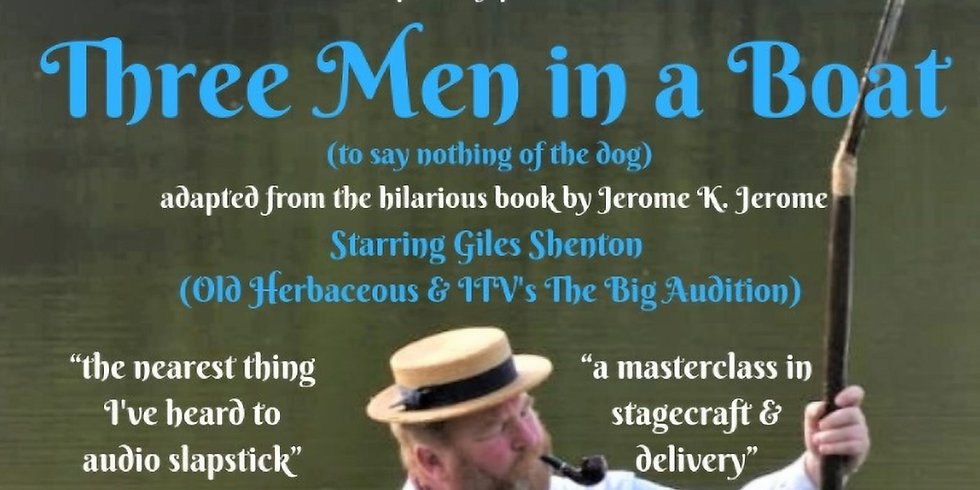 Three Men in a Boat | Comedy at The Quay