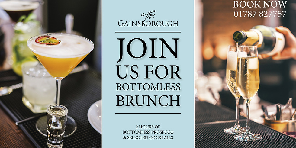 Bottomless Brunch @ The Gainsborough
