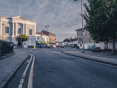Old Market Place Sudbury, photo by Chad Brown