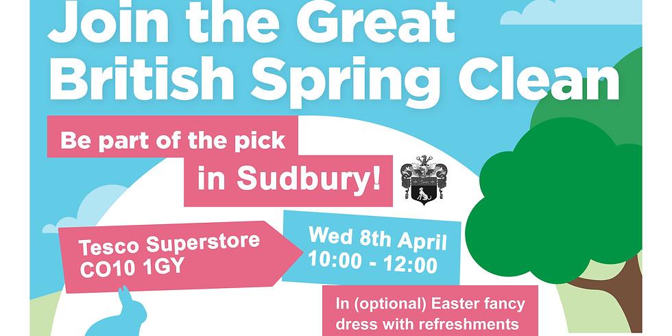 The Great British Spring Clean - Sudbury
