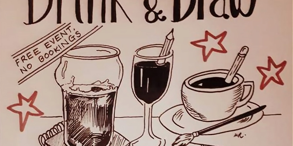 Drink & Draw (with Michelle Ranson) (1)