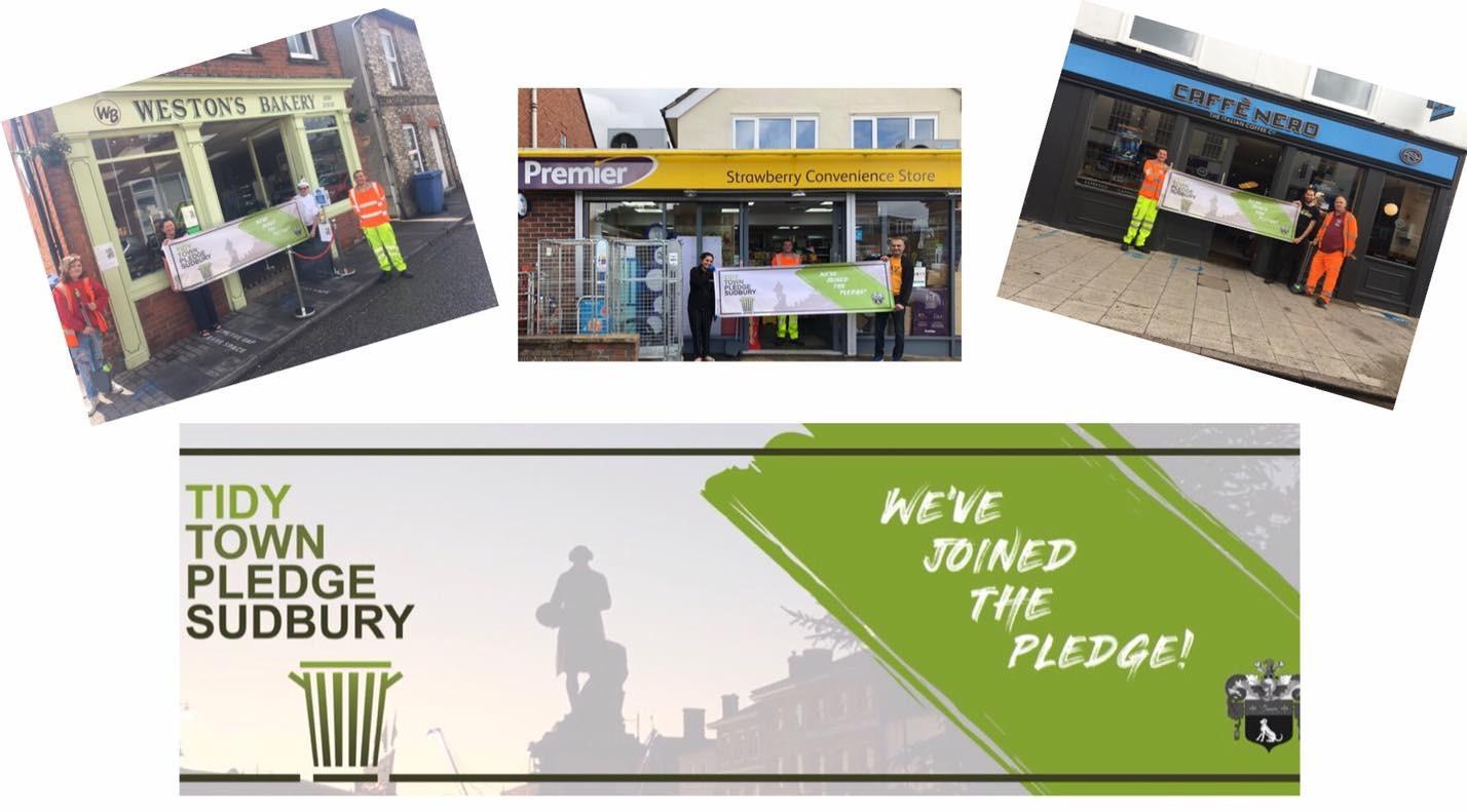 Tidy Town Pledge Sudbury 2020
