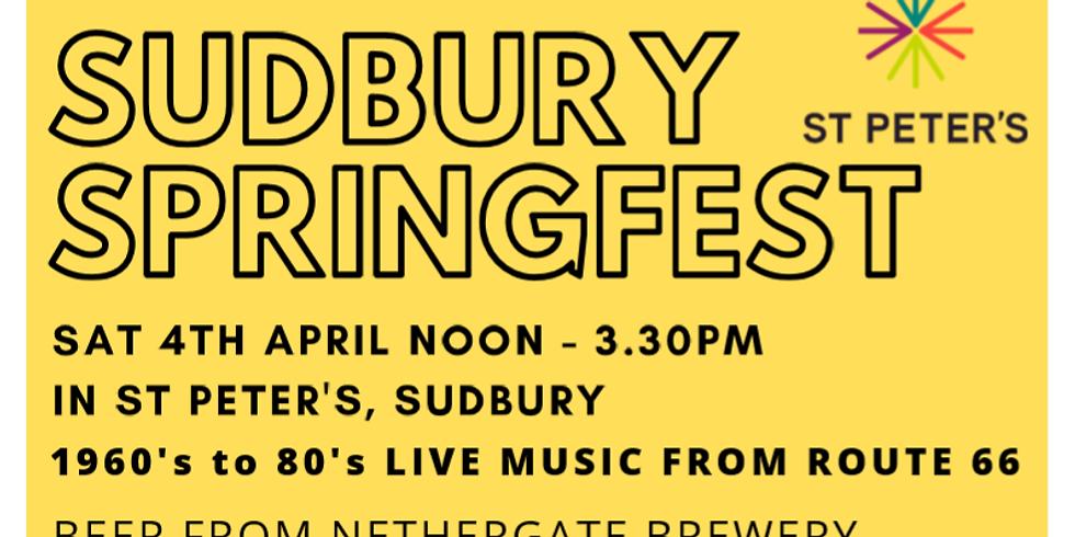 Sudbury Springfest: St Peter's Fundraiser