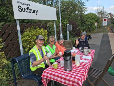 Sudbury Station Adopters, Essex & South Suffolk Community Rail Partnership