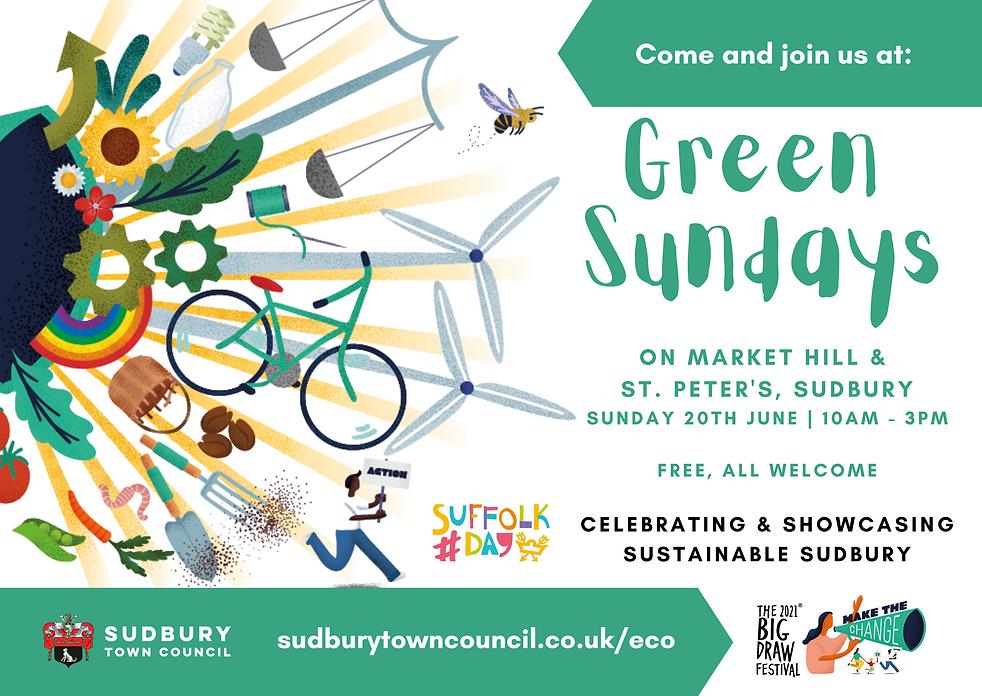 Green Sundays on Market Hill (Join us) (