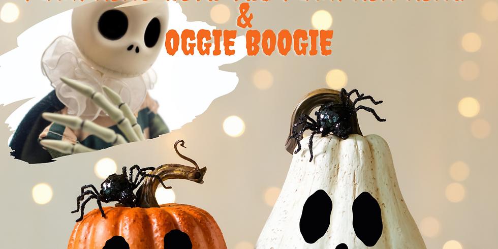 Pumpkins with the Pumpkin King & Oogie Boogie | Duck in Boots