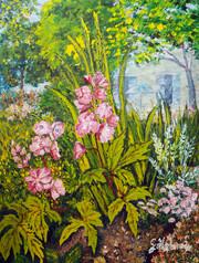 Des fleurs au jardin