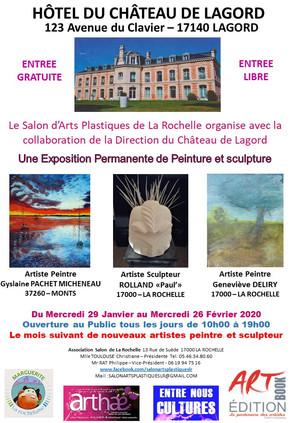 Exposition Hôtel du château de Lagord