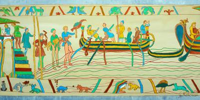 Tapisserie de Bayeux revisitée 2