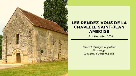 Les rendez-vous de la Chapelle Saint-Jean - Amboise