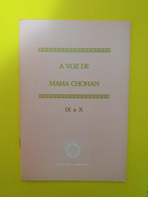 A Voz de Maha Chohan - IX e X