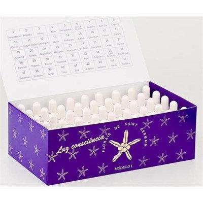 Kit 1 - caixa com 45 essências