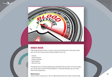 Blood pressure risk Assement screen_Hig