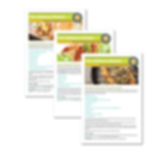 ConnectWell 2019 Recipes composite image