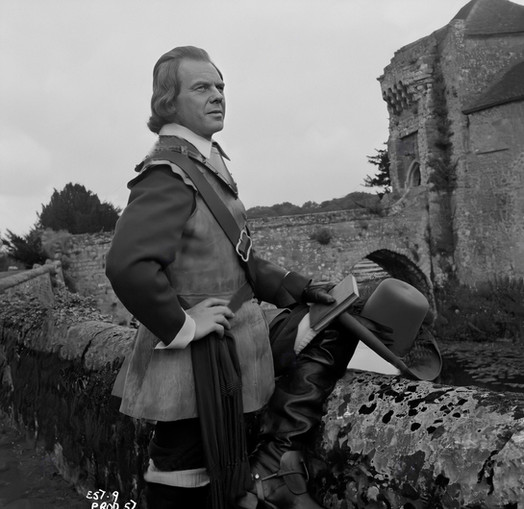 Marius Goring as Colonel John Beaumont in The Moonraker