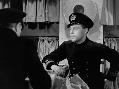 Conrad Veidt as Captain Ernst Hardt & Marius Goring as Lt. Felix Schuster in The Spy in Black 1939