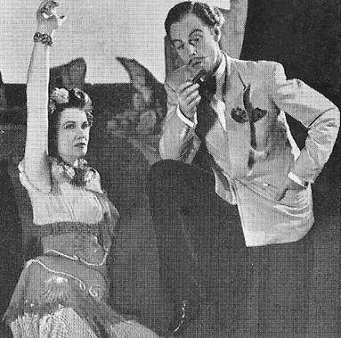 Joyce Heron and Marius Goring in Too True To Be Good 1948