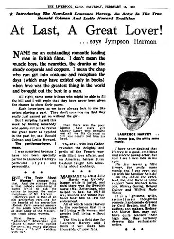 The Truth about Women review in the Liverpool Echo 15 February 1958