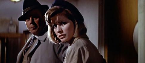 Marius Goring & Dolores Hart in The Inspector 1962